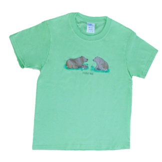I love you bear t-shirt - David B Cruises