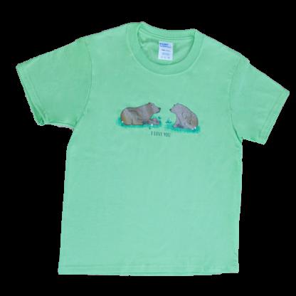 I love you bear t-shirt - David B Cruises