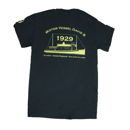David B T-shirt -Back